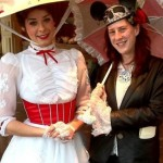 Mary Poplin with Mary Poppins
