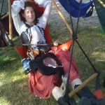 Reclining at the Renaissance Faire